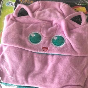Pokemon Jigglypuff Hooded Scarf